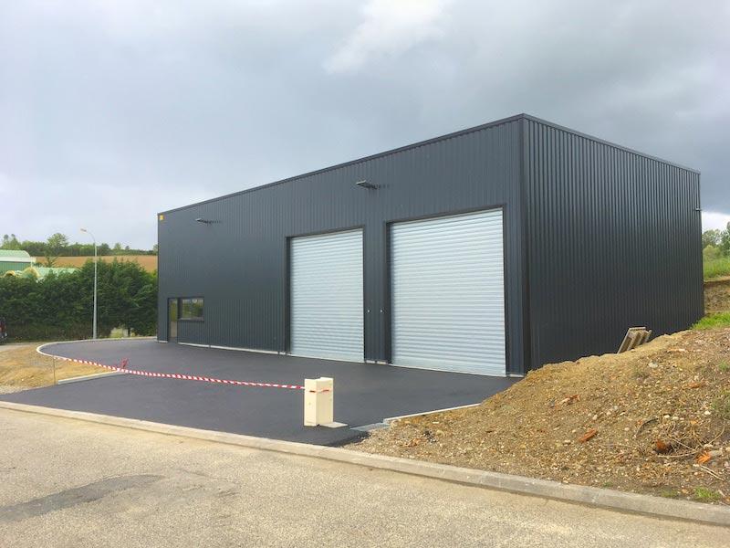 Maitre d'oeuvre construction batiment industriel Lot-et-Garonne